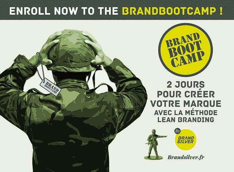 BrandBootCamp by BrandSilver : 2 jours pour créer votre marque avec la méthode Lean Branding