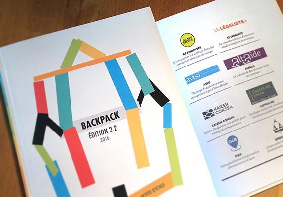 Dans le Backpack des entrepreneurs, il y a...