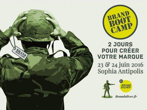Prochain BrandBootCamp by BrandSilver les 23 et 24 juin 2016 à Sophia Antipolis