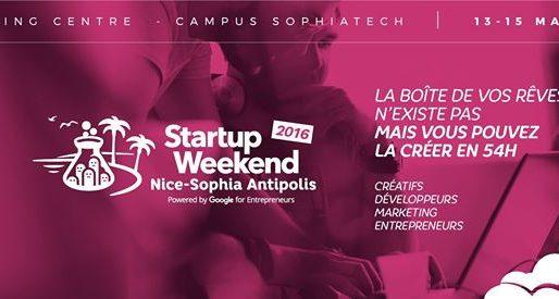 Dans les starting-blocks pour le Startup Weekend Nice Sophia Antipolis du 13-16 mai 2016