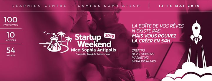 Dans les starting-blocks pour le Startup Weekend Nice Sophia Antipolis du 13-16 mai 2016