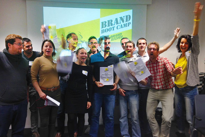 De l'efficacité, du partage, de l'action... et du branding pour les 8 startups sophipolitaines et grassoises !