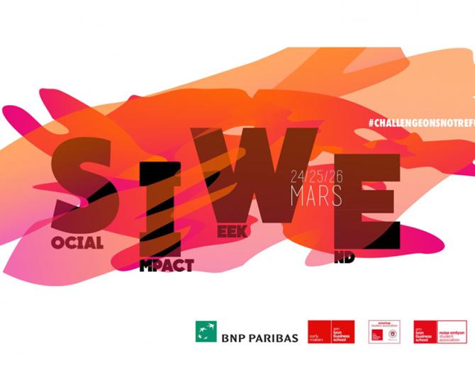 SIWE ! Planchez sur de bonnes causes au Social Impact Weekend avec Noise et SmartUp