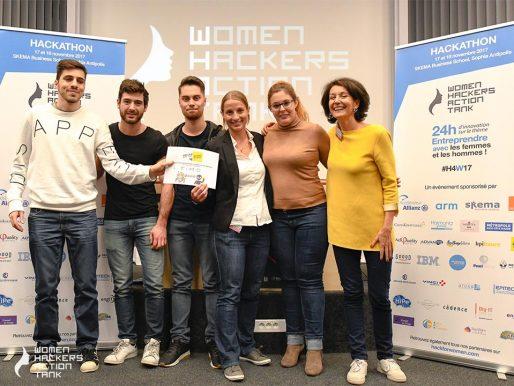 WHAT 2017 : Bravo à Timo qui remporte les prix BrandSilver et Vinci