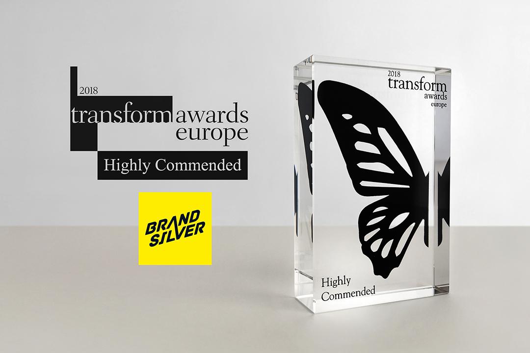 BrandSilver reçoit son premier prix international