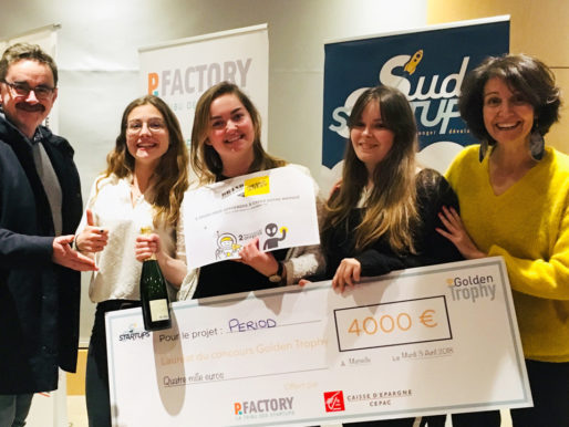 MyBoxPeriod remporte le Golden Trophy et son ticket pour le BrandBootCamp by BrandSilver de juin