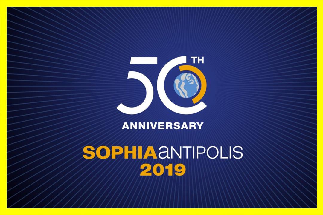 BrandSilver crée l'identité de marque des 50 ans de Sophia Antipolis