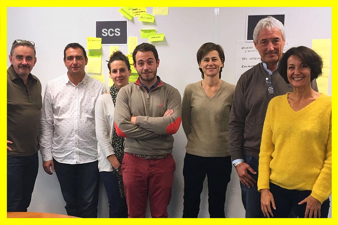 Le rebranding de Pole SCS sélectionné par Transform Magazine