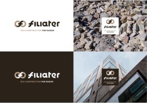 Logotype et bloc marque Filiater