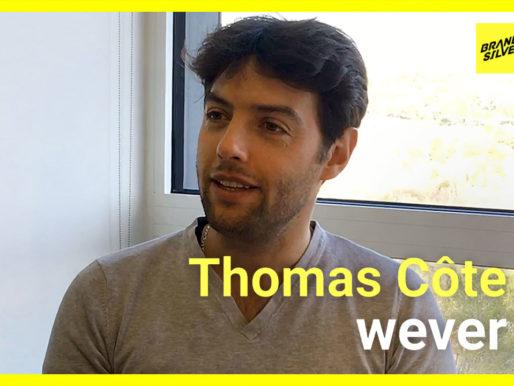 Retour d'expérience de Thomas Côte sur la refonte de la marque wever avec BrandSilver