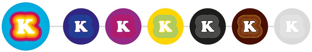 Déclinaison de l'identité Fréquence K par thématiques