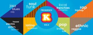 Identité grphique Frequence K par BrandSilver