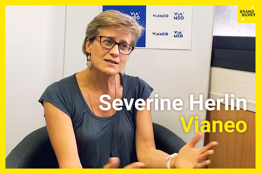 Retour client de Séverine Herlin, Vianeo : La marque se construit avec sens