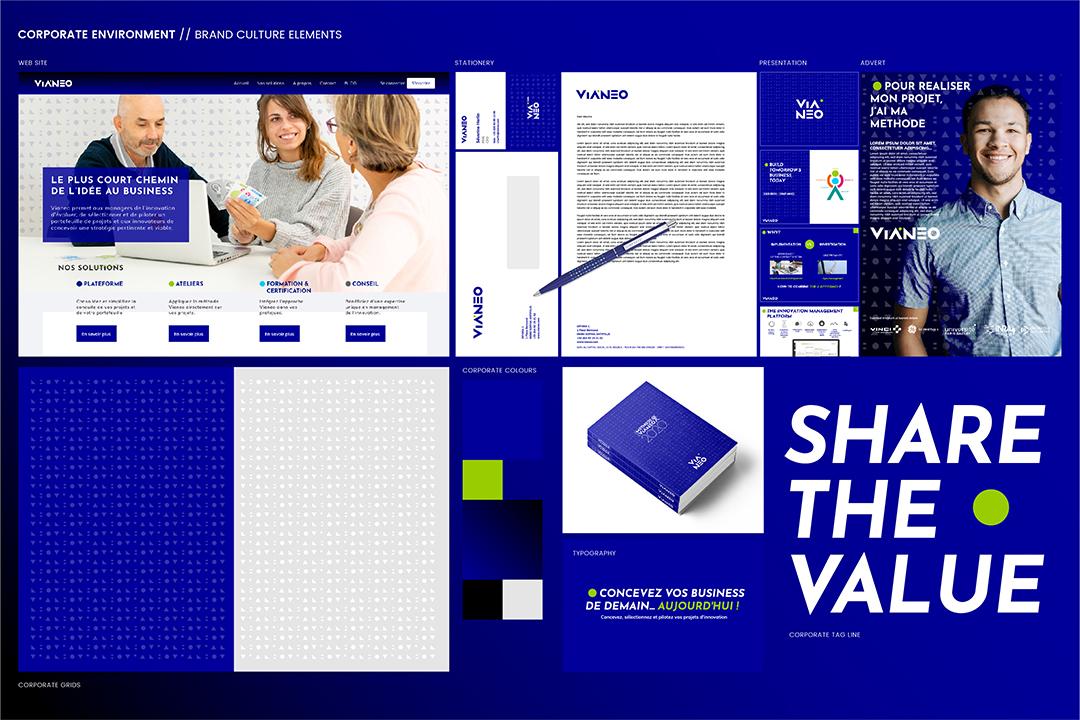 Vianeo - Univers de marque Corporate