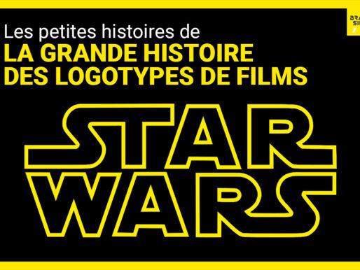La petite histoire des logotypes de films : Star Wars