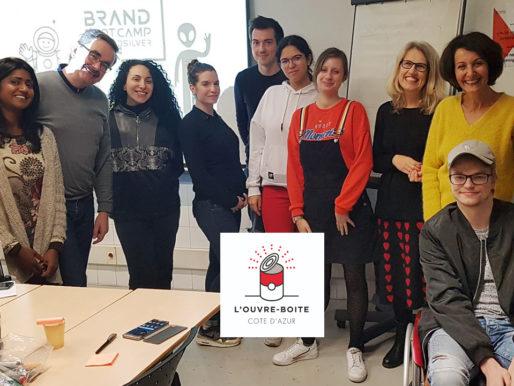 BrandBootCamp : Un super début d'année avec les jeunes et talentueux porteurs de projet de l'Ouvre-Boite