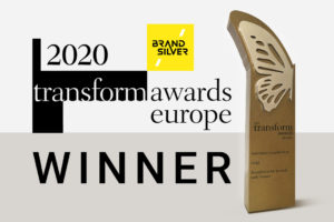 Transform Awards Europe 2020 - BrandSilver