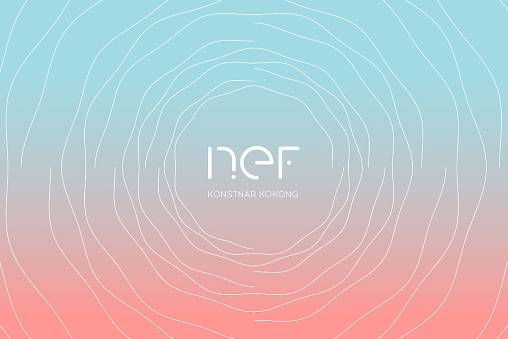 Nef Galleri - Logotype, crédit BrandSilver