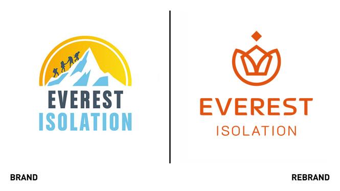 Rebranding Everest Isolation - Logos