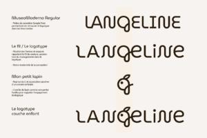 Charte graphique Langeline - Crédit BrandSilver
