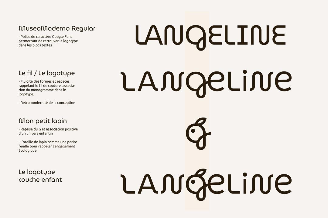 Logotype Langeline - Crédit BrandSilver