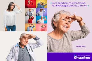 Image concept et communication de marque Chepakee